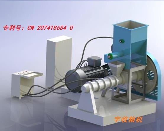 油料膨化机处理量:0.5吨-2吨/小时