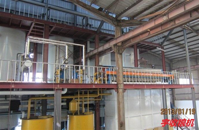 冬化脱蜡、分提工艺处理量:1.0-1500吨