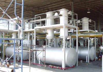 废塑料连续式裂解油设备