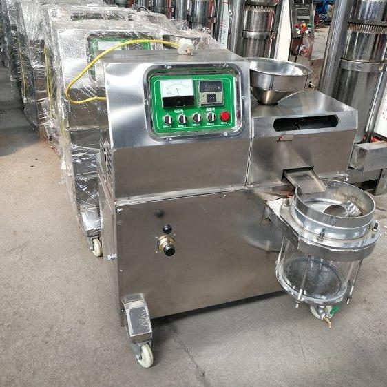 60型车载榨油机 小型多功能螺旋榨油机 单相电流动型榨油机多功能