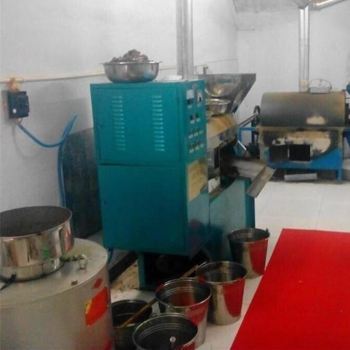 全自动炸油机 花生螺旋榨油机 菜籽榨油机厂家价格优惠免费上门安装