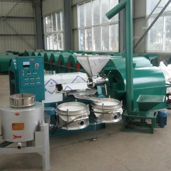 新型菜籽榨油机设备 全自动花生榨油机 榨油机厂家直接销售