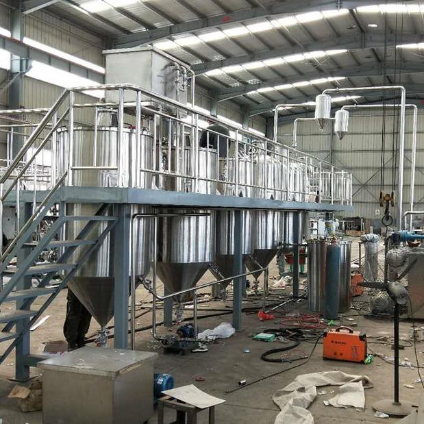 食用油加工设备 花生油炼油生产线 菜籽油精炼油机可达到国家标准