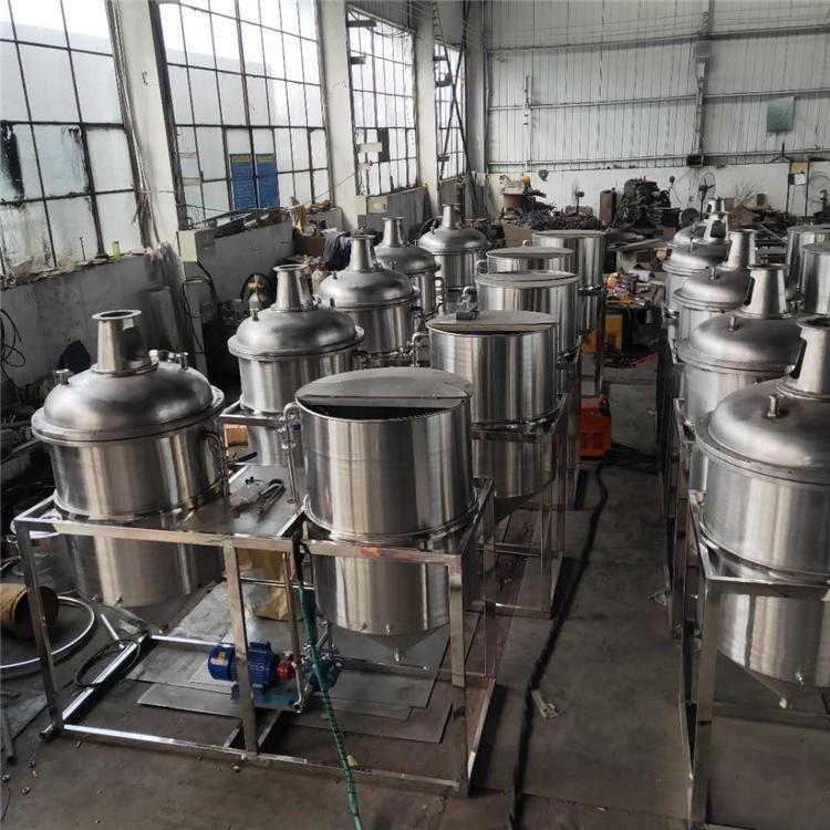 小型榨油坊用 菜籽油精炼机 花生油精炼机 提高毛油品质 精炼机