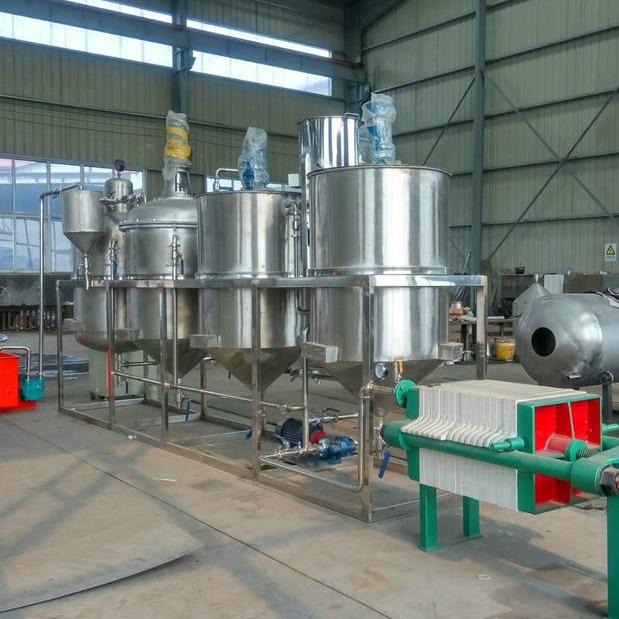 小型榨油坊精炼油机 菜籽油炼油机 精炼设备厂家生产销售