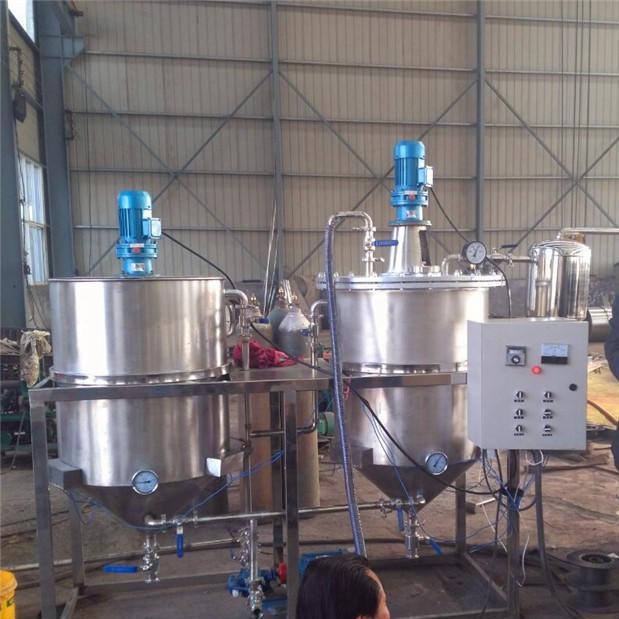 连续式精炼油机 炼油机,榨油成套设备厂家直接生产销售