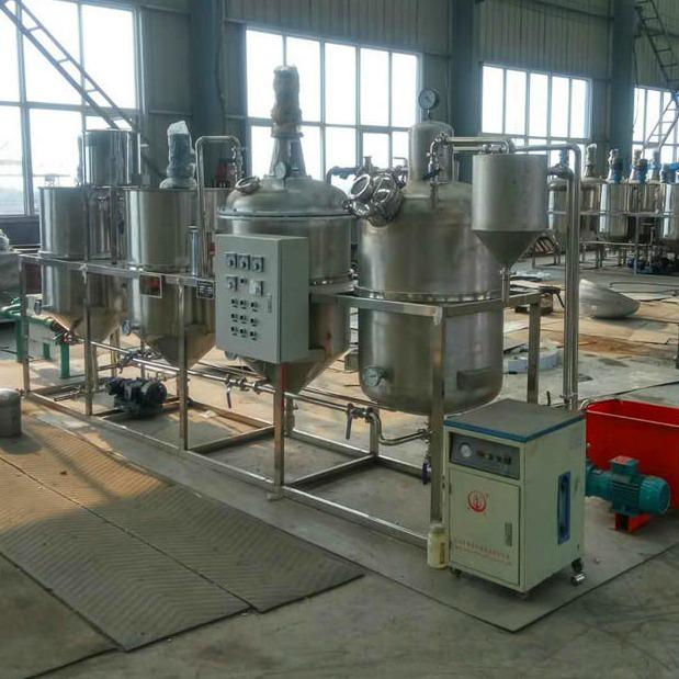 榨油坊专用炼油机设备 菜籽油精炼设备 小型一级油精炼机厂家直接销售 价格优惠