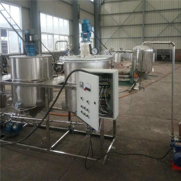 小型油脂精炼成套设备 花生油炼油机 茶籽油精炼设备 食品级材质 可定制生产
