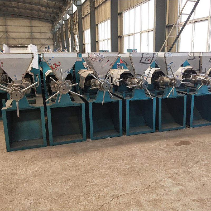 厂家直销100型花生榨油机 全自动榨油机 花生油 一机多用 电加热