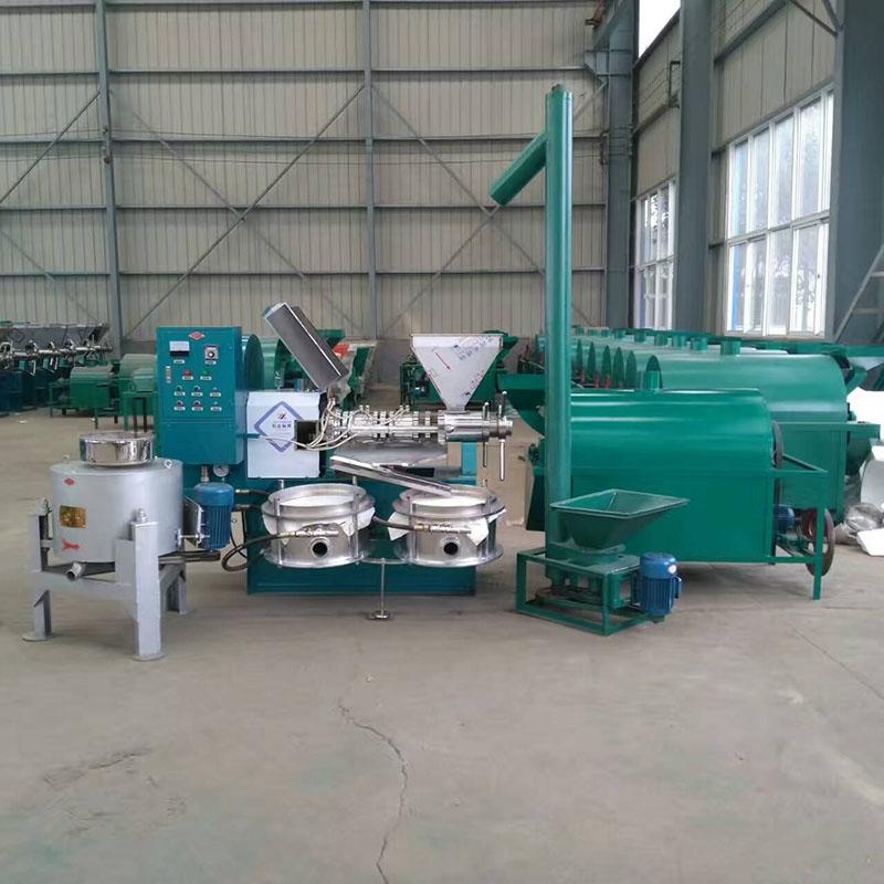 6YL-100 菜籽榨油机 自动化程度高 商用全自动 多功能榨油机