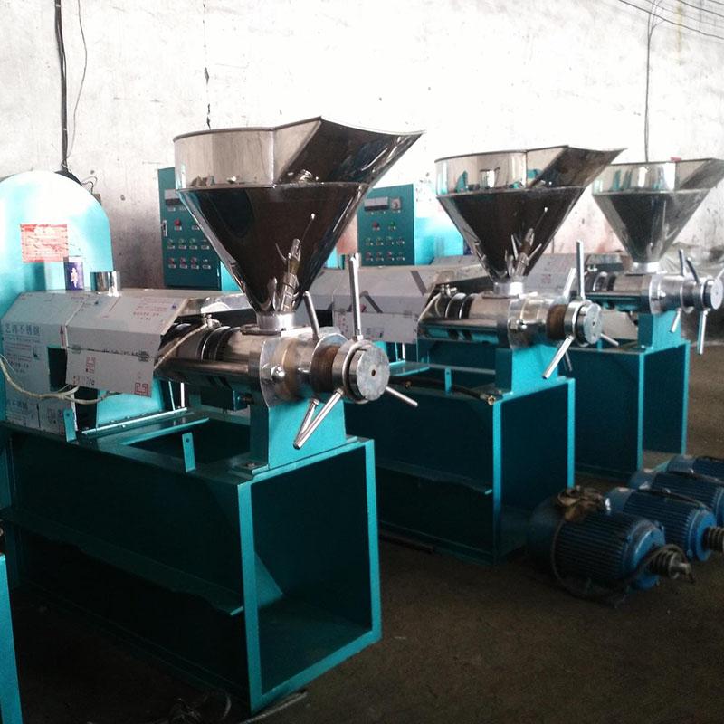 供应6YL-125大型商用全自动榨油机 新型螺旋榨油机自动控温 物流发货包安装
