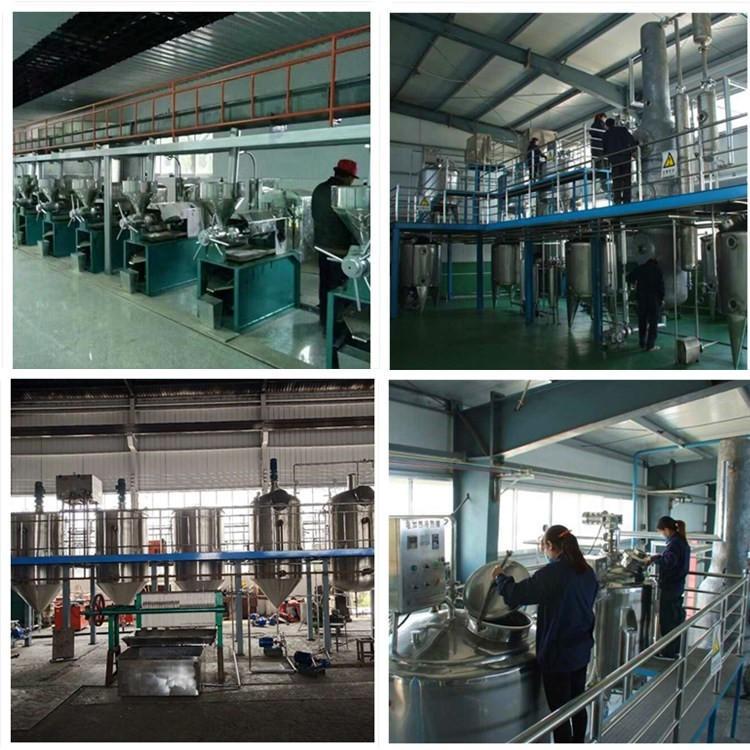 兴昌机械供应花生油成套设备 压榨精炼灌装生产线 一级油标准物理精炼 厂家上门安装