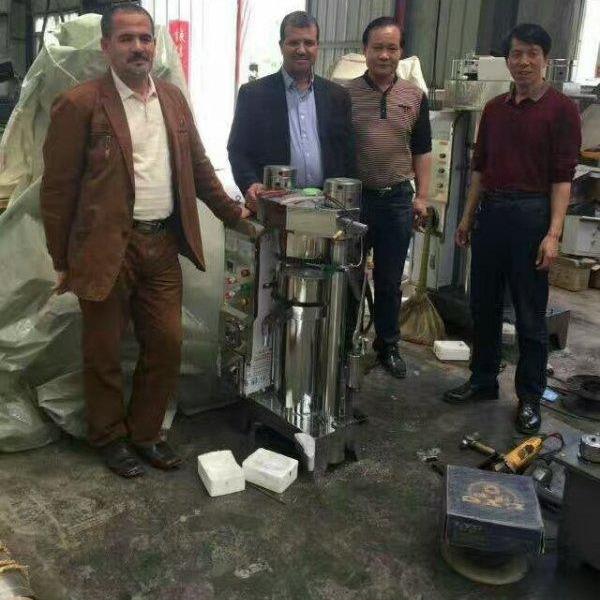 全自动芝麻香油榨油机 东北液压榨油机 花生核桃榨油机生产厂家