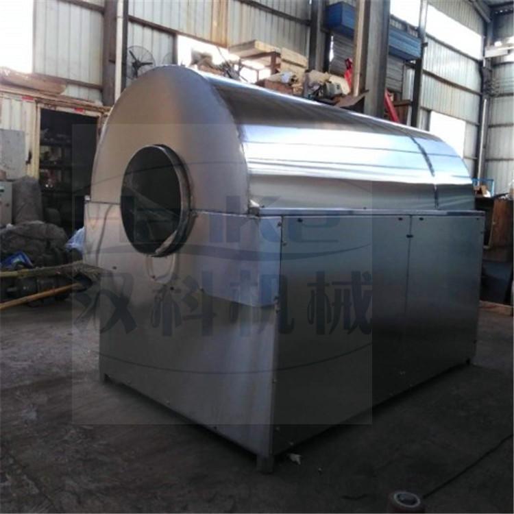 供应各种型号全自动滚筒炒货机炒锅 节能环保型电加热滚筒炒锅