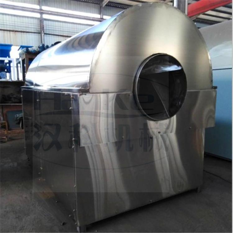 厂家长期现货供应大型电加热滚筒烘干机 电加热全自动滚筒炒锅机