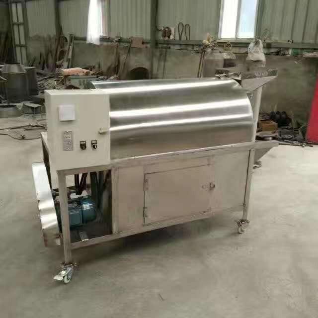 厂家现货供应100公斤小型电加热滚筒炒货机 节能环保 价格优惠