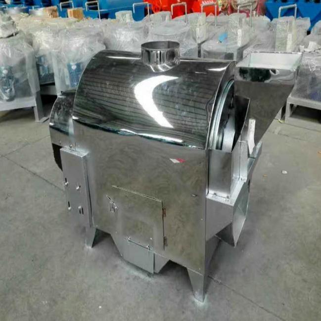 供应定制各种型不锈钢电加热滚筒炒货机 全自动不锈钢滚筒炒锅