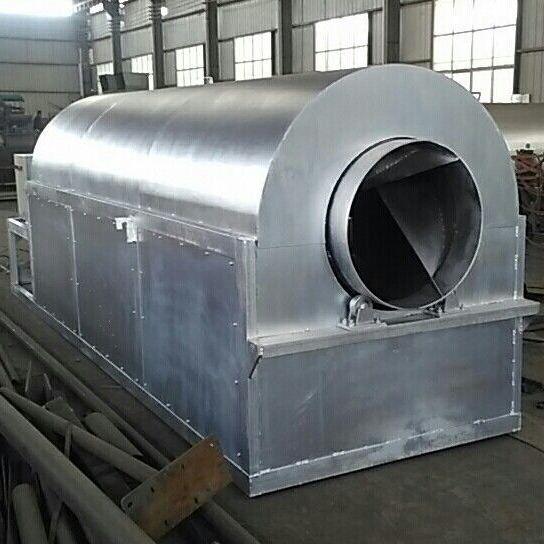河南汉科机械厂家现货供应节能环保型电加热滚筒炒锅机 价格优惠