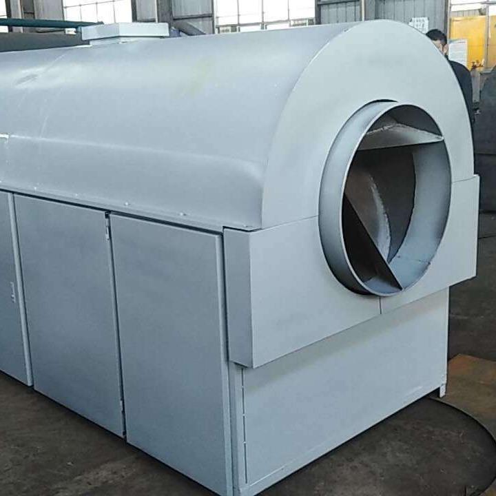厂家现货供应大型电加热滚筒炒锅 全自动不锈钢环保炒货机 支持定制