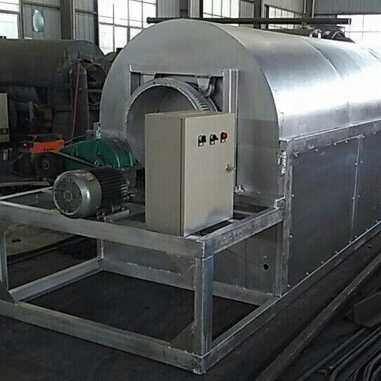 现货供应定制500公斤大型滚筒炒锅 电加热滚筒花生炒锅自动控温