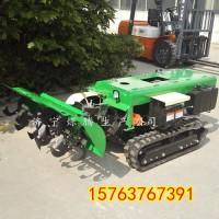 逐渐提高作业效率的全自动旋耕回填机 小型履带回填耕地机 多功能深耕机